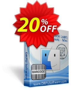 DRPU Barcode Label Maker Software - for MAC Machines  Coupon, discount softwarecoupons.com Offer. Promotion: stunning discount code of DRPU Barcode Label Maker Software (for MAC Machines) 2020
