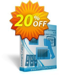 DRPU Publisher and Library Barcode Label Creator Software Coupon, discount softwarecoupons.com Offer. Promotion: wonderful sales code of DRPU Publisher and Library Barcode Label Creator Software 2020