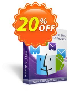 DRPU MAC Bulk SMS Software for Android Phones Coupon discount Wide-site discount 2021 DRPU MAC Bulk SMS Software for Android Phones - amazing offer code of DRPU MAC Bulk SMS Software for Android Phones 2021