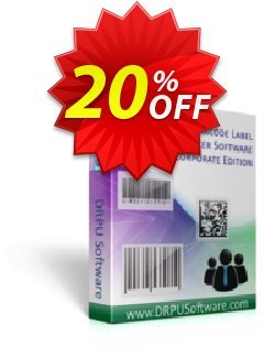 DRPU Barcode Maker software - Corporate Edition Coupon discount softwarecoupons.com Offer. Promotion: exclusive offer code of DRPU Barcode Maker software - Corporate Edition 2021