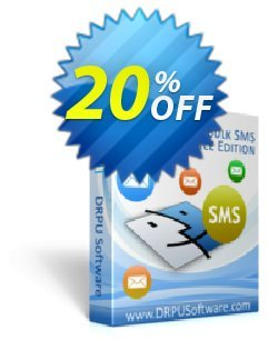 DRPU Mac Bulk SMS Software - Multi Device Edition Coupon discount Wide-site discount 2021 DRPU Mac Bulk SMS Software - Multi Device Edition. Promotion: excellent promotions code of DRPU Mac Bulk SMS Software - Multi Device Edition 2021
