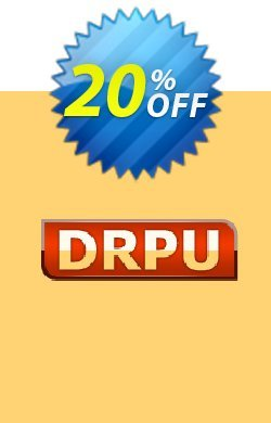 DRPU Barcode Maker software - Corporate Edition - 5 PC License Coupon discount softwarecoupons.com Offer - staggering promo code of DRPU Barcode Maker software - Corporate Edition - 5 PC License 2021