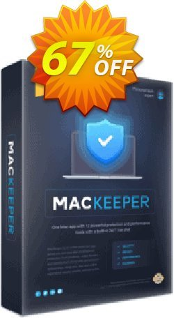 MacKeeper Standard - 2 Mac Coupon, discount MacKeeper Standard - License for 2 Macs wondrous discounts code 2020. Promotion: wondrous discounts code of MacKeeper Standard - License for 2 Macs 2020