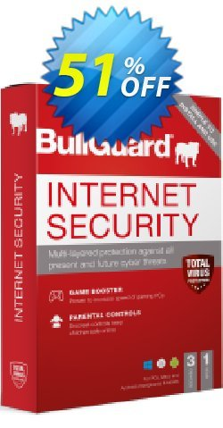 BullGuard 2018 Internet Security Coupon, discount BullGuard 2020 Internet Security 1-Year 3-PCs at USD$39.95 awful discounts code 2020. Promotion: awful discounts code of BullGuard 2020 Internet Security 1-Year 3-PCs at USD$39.95 2020