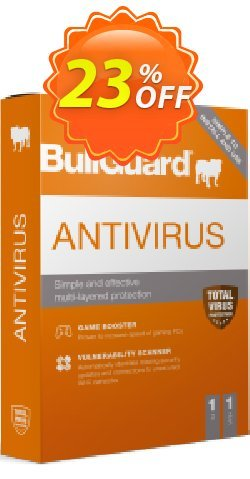 BullGuard 2020 Antivirus Coupon, discount BullGuard 2020 Antivirus 1-Year 3-PCs at USD$29.95 awful discounts code 2020. Promotion: awful discounts code of BullGuard 2020 Antivirus 1-Year 3-PCs at USD$29.95 2020