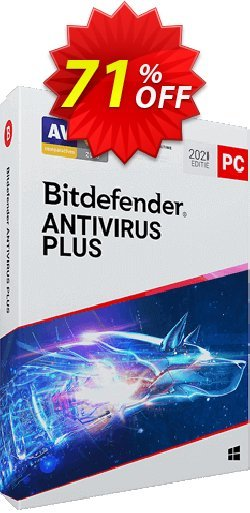 Bitdefender Antivirus Plus 2021 Coupon, discount 70% OFF Bitdefender Antivirus Plus 2021, verified. Promotion: Awesome promo code of Bitdefender Antivirus Plus 2021, tested & approved