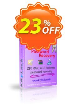 KRyLack Archive Password Recovery Coupon, discount KRyLack Archive Password Recovery marvelous promo code 2020. Promotion: marvelous promo code of KRyLack Archive Password Recovery 2020