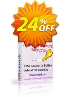 Asterisk Password Decryptor Coupon, discount Asterisk Password Decryptor formidable discounts code 2020. Promotion: formidable discounts code of Asterisk Password Decryptor 2020