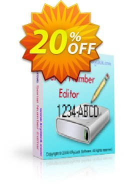 Volume Serial Number Editor UNLIMITED License Coupon, discount Volume Serial Number Editor UNLIMITED License fearsome discount code 2020. Promotion: fearsome discount code of Volume Serial Number Editor UNLIMITED License 2020
