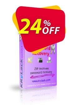 KRyLack ZIP Password Recovery Coupon, discount KRyLack ZIP Password Recovery special promotions code 2019. Promotion: special promotions code of KRyLack ZIP Password Recovery 2019