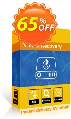 Kernel VMDK Recovery Coupon discount 65% OFF Kernel VMDK Recovery, verified - Staggering deals code of Kernel VMDK Recovery, tested & approved