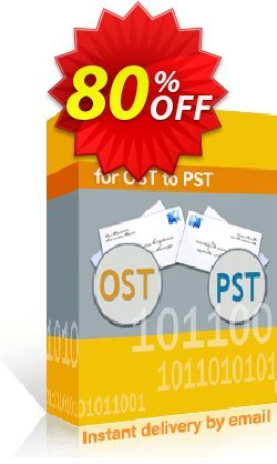 Kernel for OST to PST - Corporate License upgrade  Coupon discount 80% OFF Kernel for OST to PST (Corporate License upgrade), verified - Staggering deals code of Kernel for OST to PST (Corporate License upgrade), tested & approved