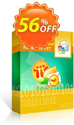 Kernel for Lotus Notes to Outlook - 25 NSF Files  Coupon discount 30% OFF Kernel for Lotus Notes to Outlook (25 NSF Files), verified - Staggering deals code of Kernel for Lotus Notes to Outlook (25 NSF Files), tested & approved