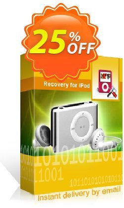 Kernel Recovery for IPod Coupon, discount Kernel Recovery for IPod amazing offer code 2019. Promotion: amazing offer code of Kernel Recovery for IPod 2019