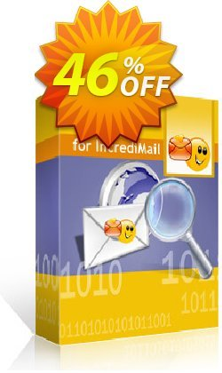 Kernel for IncrediMail Recovery Coupon discount Kernel Recovery for IncrediMail - Home License staggering deals code 2021 - staggering deals code of Kernel Recovery for IncrediMail - Home License 2021