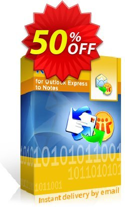 Kernel for Outlook Express to Notes - Technician License Coupon discount Kernel for Outlook Express to Notes - Technician License stirring discounts code 2020 - stirring discounts code of Kernel for Outlook Express to Notes - Technician License 2020