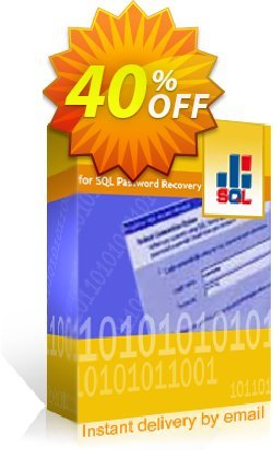 Kernel SQL Password Recovery - Technician License Coupon, discount Kernel SQL Password Recovery - Technician License special discounts code 2019. Promotion: special discounts code of Kernel SQL Password Recovery - Technician License 2019