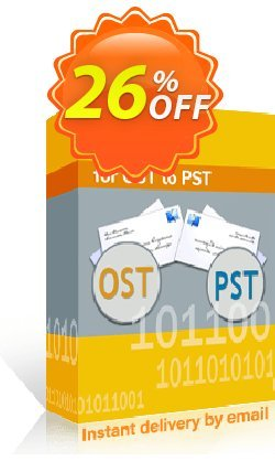 Kernel for OST to PST Coupon discount Kernel for OST to PST - Personal License Marvelous discounts code 2020. Promotion: Marvelous discounts code of Kernel for OST to PST - Personal License 2020