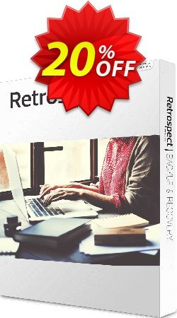 Retrospect Solo Coupon, discount Retrospect Solo v.16 for Windows hottest deals code 2019. Promotion: hottest deals code of Retrospect Solo v.16 for Windows 2019