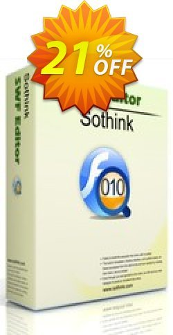 Sothink SWF Editor Coupon, discount Sothink SWF Editor wonderful discount code 2020. Promotion: wonderful discount code of Sothink SWF Editor 2020
