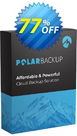 PolarBackup 1 TB - Lifetime  Coupon discount 93% OFF PolarBackup 1 TB (Lifetime) Dec 2019 - Fearsome deals code of PolarBackup 1 TB (Lifetime), tested in December 2019