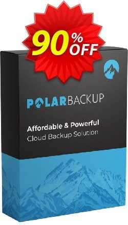 PolarBackup 5 TB - Lifetime  Coupon discount 93% OFF PolarBackup 5 TB (Lifetime) Dec 2019 - Fearsome deals code of PolarBackup 5 TB (Lifetime), tested in December 2019