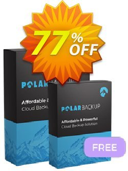 PolarBackup 5TB + 5TB Free Coupon discount Polar Backup 5TB + 5TB Free - Lifetime Dreaded offer code 2021 - Dreaded offer code of Polar Backup 5TB + 5TB Free - Lifetime 2021