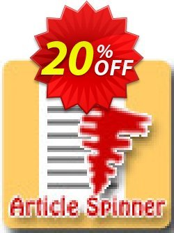 Article Spinner Script Coupon, discount Article Spinner Script big promotions code 2019. Promotion: big promotions code of Article Spinner Script 2019