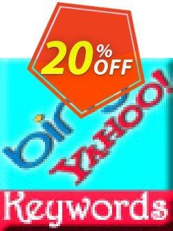 Bing Keyword Suggestion Script Coupon, discount Bing Keyword Suggestion Script special deals code 2019. Promotion: special deals code of Bing Keyword Suggestion Script 2019
