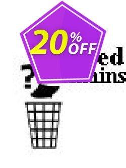 Deleted Domains Checker Script Coupon, discount Deleted Domains Checker Script imposing deals code 2019. Promotion: imposing deals code of Deleted Domains Checker Script 2019