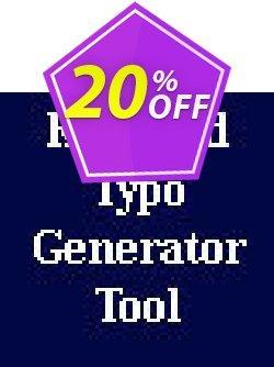Keyword Typo Generator Script Coupon, discount Keyword Typo Generator Script excellent offer code 2019. Promotion: excellent offer code of Keyword Typo Generator Script 2019