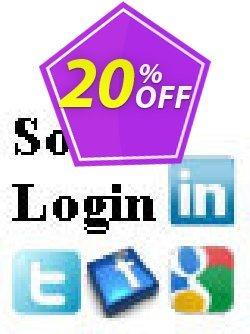Social Login Script Coupon, discount Social Login Script marvelous discounts code 2019. Promotion: marvelous discounts code of Social Login Script 2019