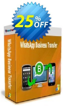 Backuptrans WhatsApp Business Transfer - Family Edition  Coupon discount 10% OFF Backuptrans WhatsApp Business Transfer (Family Edition), verified - Special promotions code of Backuptrans WhatsApp Business Transfer (Family Edition), tested & approved