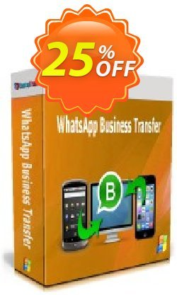 Backuptrans WhatsApp Business Transfer - Business Edition  Coupon discount 10% OFF Backuptrans WhatsApp Business Transfer (Business Edition), verified - Special promotions code of Backuptrans WhatsApp Business Transfer (Business Edition), tested & approved