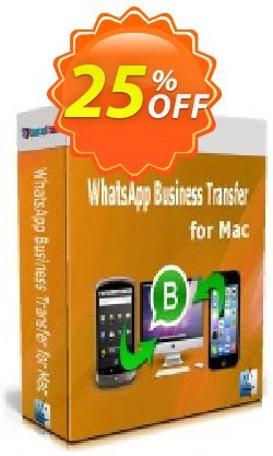 Backuptrans WhatsApp Business Transfer for Mac - Family Edition  Coupon discount 10% OFF Backuptrans WhatsApp Business Transfer for Mac (Family Edition), verified - Special promotions code of Backuptrans WhatsApp Business Transfer for Mac (Family Edition), tested & approved
