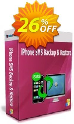 Backuptrans iPhone SMS Backup & Restore Coupon, discount Backuptrans iPhone SMS Backup & Restore (Personal Edition) fearsome deals code 2021. Promotion: formidable sales code of Backuptrans iPhone SMS Backup & Restore (Personal Edition) 2021