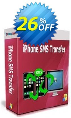 Backuptrans iPhone SMS Transfer - Family Edition  Coupon, discount Backuptrans iPhone SMS Transfer (Family Edition) awesome sales code 2021. Promotion: exclusive promotions code of Backuptrans iPhone SMS Transfer (Family Edition) 2021