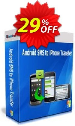 Backuptrans Android SMS to iPhone Transfer Coupon, discount Backuptrans Android SMS to iPhone Transfer (Personal Edition) stunning discount code 2021. Promotion: amazing offer code of Backuptrans Android SMS to iPhone Transfer (Personal Edition) 2021