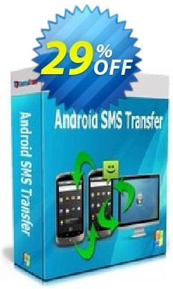 Backuptrans Android SMS Transfer Coupon, discount Backuptrans Android SMS Transfer (Personal Edition) fearsome offer code 2021. Promotion: formidable deals code of Backuptrans Android SMS Transfer (Personal Edition) 2021