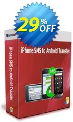 Backuptrans iPhone SMS to Android Transfer Coupon, discount Backuptrans iPhone SMS to Android Transfer (Personal Edition) marvelous discounts code 2021. Promotion: excellent promo code of Backuptrans iPhone SMS to Android Transfer (Personal Edition) 2021