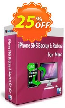 Backuptrans iPhone SMS Backup & Restore for Mac Coupon, discount Backuptrans iPhone SMS Backup & Restore for Mac (Personal Edition) imposing sales code 2021. Promotion: staggering promotions code of Backuptrans iPhone SMS Backup & Restore for Mac (Personal Edition) 2021