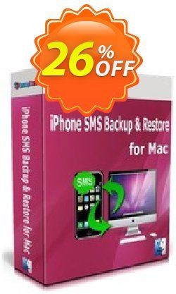 Backuptrans iPhone SMS Backup & Restore for Mac - Family Edition  Coupon, discount Backuptrans iPhone SMS Backup & Restore for Mac (Family Edition) stirring deals code 2021. Promotion: imposing sales code of Backuptrans iPhone SMS Backup & Restore for Mac (Family Edition) 2021