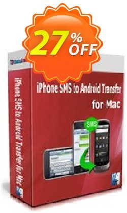 Backuptrans iPhone SMS to Android Transfer for Mac Coupon, discount Backuptrans iPhone SMS to Android Transfer for Mac (Personal Edition) excellent promotions code 2021. Promotion: dreaded discounts code of Backuptrans iPhone SMS to Android Transfer for Mac (Personal Edition) 2021