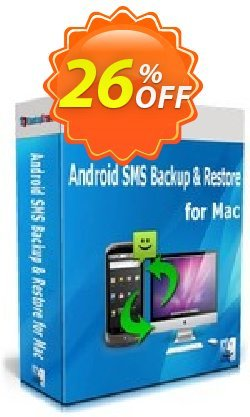 Backuptrans Android SMS Backup & Restore for Mac - Family Edition  Coupon discount Backuptrans Android SMS Backup & Restore for Mac (Family Edition) amazing promo code 2021. Promotion: awful discount code of Backuptrans Android SMS Backup & Restore for Mac (Family Edition) 2021