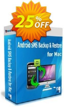 Backuptrans Android SMS Backup & Restore for Mac - Business Edition  Coupon discount Backuptrans Android SMS Backup & Restore for Mac (Business Edition) super discounts code 2021 - amazing promo code of Backuptrans Android SMS Backup & Restore for Mac (Business Edition) 2021