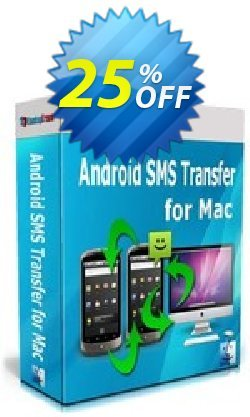 Backuptrans Android SMS Transfer for Mac - Family Edition  Coupon, discount Backuptrans Android SMS Transfer for Mac (Family Edition) special offer code 2021. Promotion: hottest deals code of Backuptrans Android SMS Transfer for Mac (Family Edition) 2021
