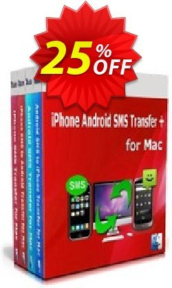 Backuptrans iPhone Android SMS Transfer + for Mac - Family Edition  Coupon, discount Holiday Deals. Promotion: formidable discounts code of Backuptrans iPhone Android SMS Transfer + for Mac (Family Edition) 2021