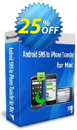 Backuptrans Android iPhone SMS Transfer + for Mac - Family Edition  Coupon, discount Holiday Deals. Promotion: wondrous discount code of Backuptrans Android iPhone SMS Transfer + for Mac (Family Edition) 2021
