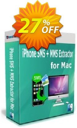 Backuptrans iPhone SMS + MMS Extractor for Mac Coupon, discount Holiday Deals. Promotion: impressive promo code of Backuptrans iPhone SMS + MMS Extractor for Mac (Personal Edition) 2021