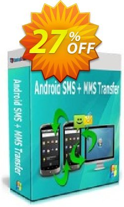 Backuptrans Android SMS + MMS Transfer Coupon, discount Holiday Deals. Promotion: fearsome promotions code of Backuptrans Android SMS + MMS Transfer (Personal Edition) 2021
